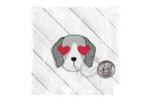 Love Eyes Pup Dogs Embroidery Design By Yours Truly Designs 4