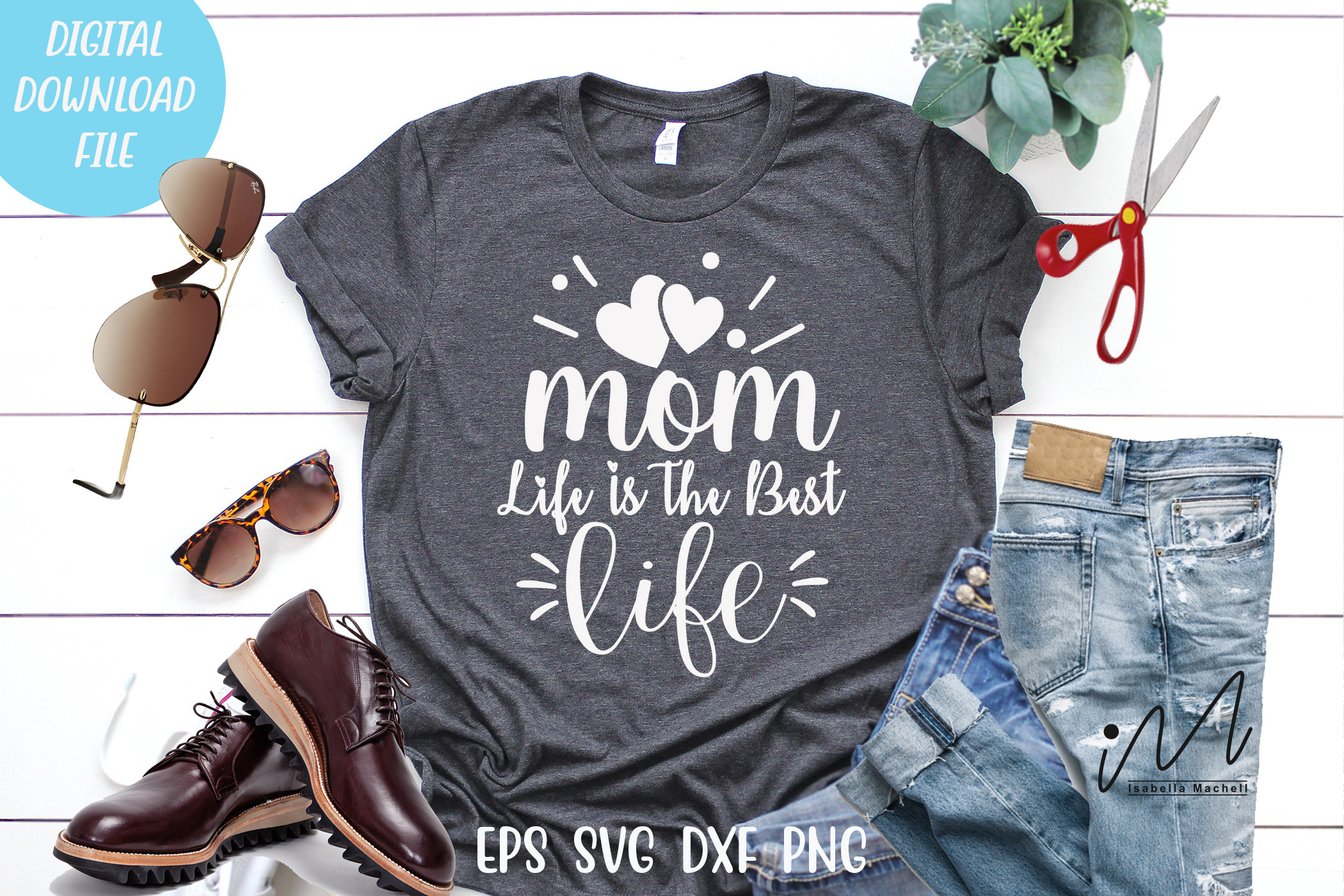 Mom Life is the Best Life SVG SVG File