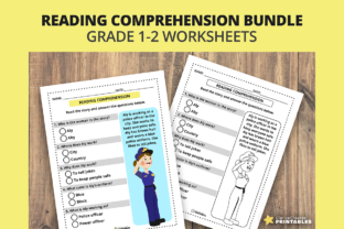 Print on Demand: Reading Worksheet - Jobs - Grade 1 & 2 Graphic Teaching Materials By PrintablesCC