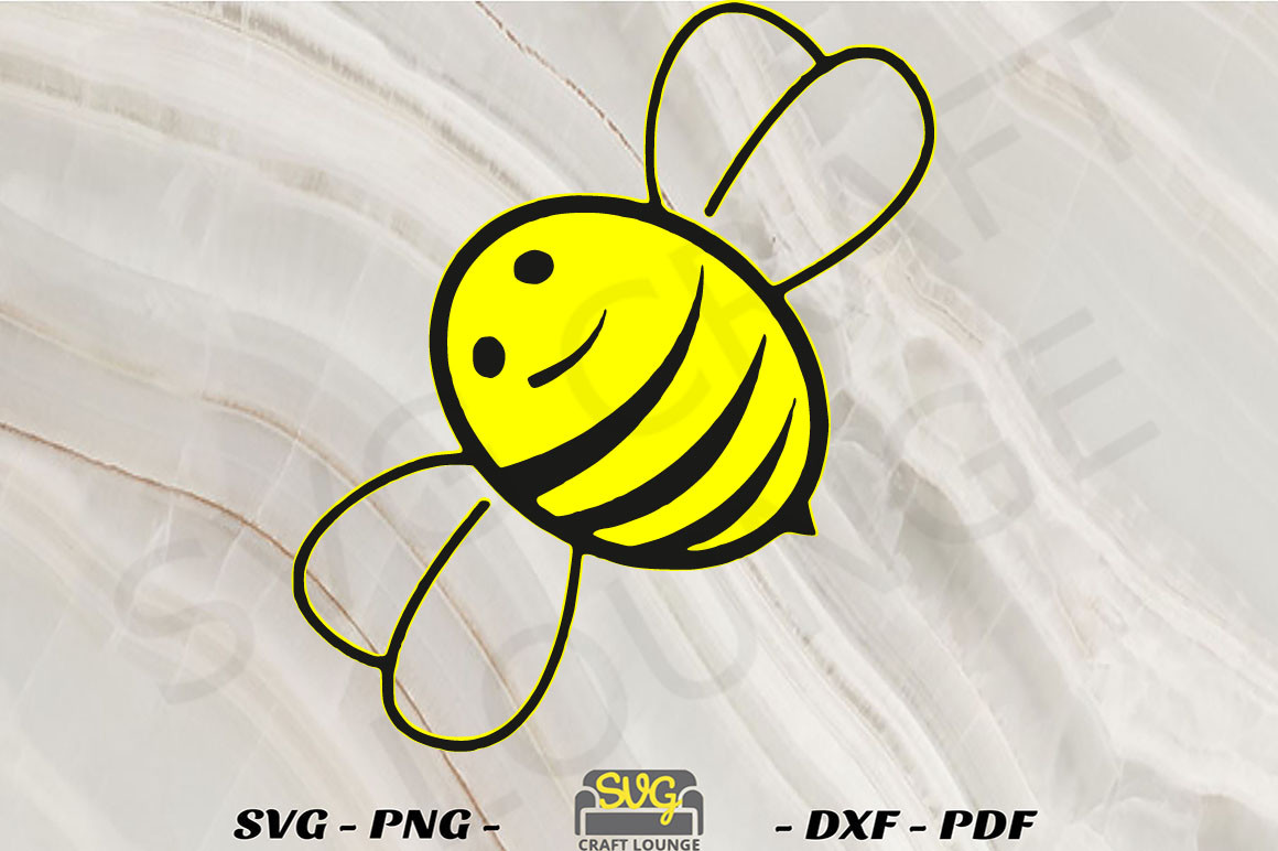 Bee |Printable and Cut File SVG File