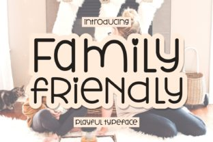 Print on Demand: Family Friendly Script & Handwritten Font By Keithzo (7NTypes)