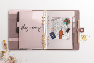 Print on Demand: SUMMER & TRAVEL PLANNER CLIPARTS Graphic Illustrations By TheGGShop 5