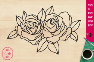 Print on Demand: Flowers Graphic Crafts By Little Craft Fun