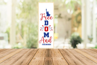 Print on Demand: 4th of July Porch Sign Bundle Graphic Print Templates By Designdealy 2
