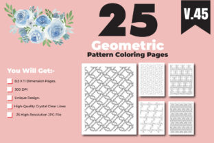 Print on Demand: Adult Coloring Book Pages Design for KDP Graphic Coloring Pages & Books Adults By ivect