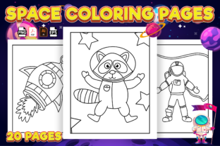 Print on Demand: Space Coloring Pages for Kids | Kdp Graphic Coloring Pages & Books Kids By Kristy Coloring