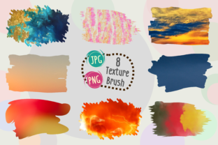 Print on Demand: Texture Brush Graphic Brushes By Kiang Stock Digiart