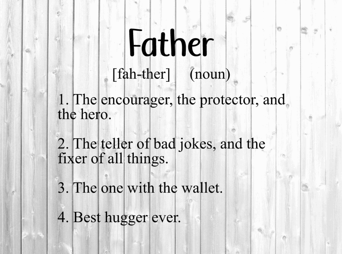 Father Definition Svg - Fathers Day Svg SVG File