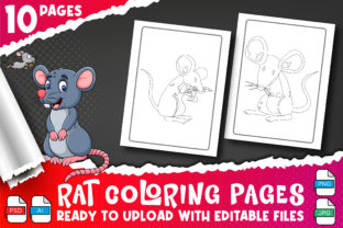 Rat Coloring Book for Kids Vol-4 Graphic Coloring Pages & Books Kids By Profit creator 3