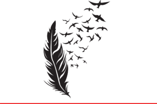 Print on Demand: Feather Graphic Illustrations By Sofiamastery 2