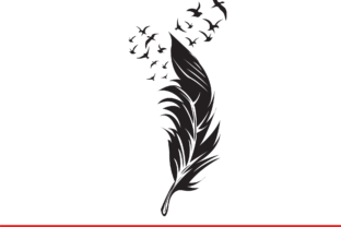 Print on Demand: Feather Graphic Illustrations By Sofiamastery 3