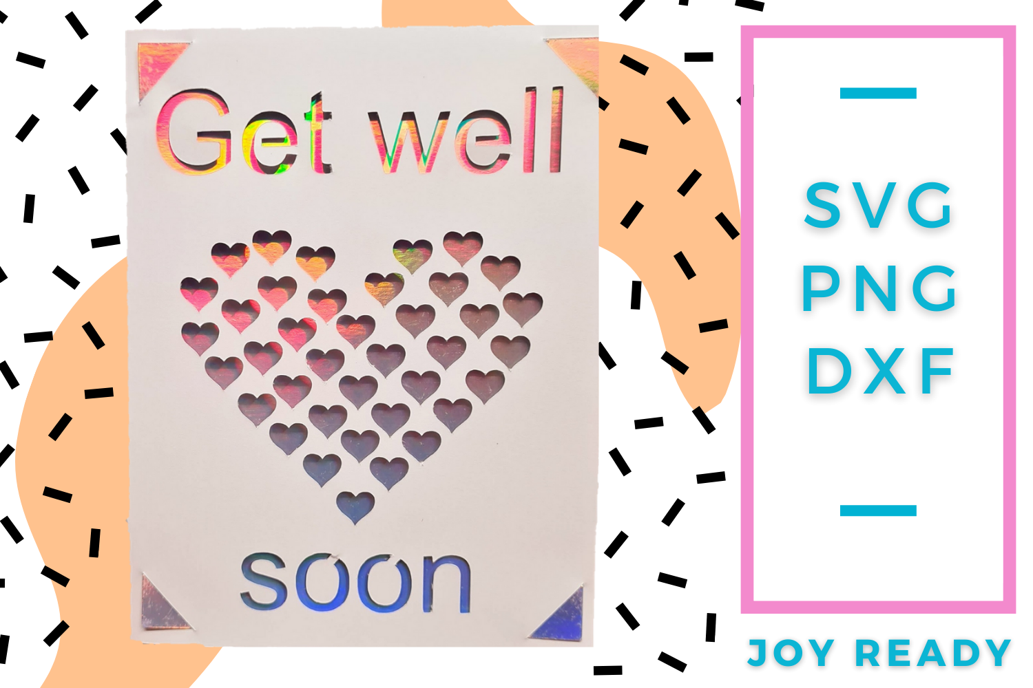 Get Well Soon SVG File