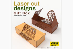 Print on Demand: Gift Box Graphic 3D SVG By tofigh4lang