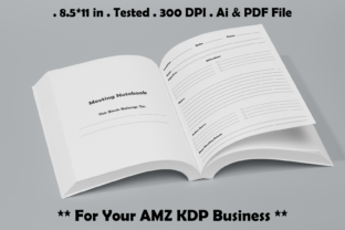 Meeting Notebook - Kdp Graphic KDP Interiors By Kdp Speed