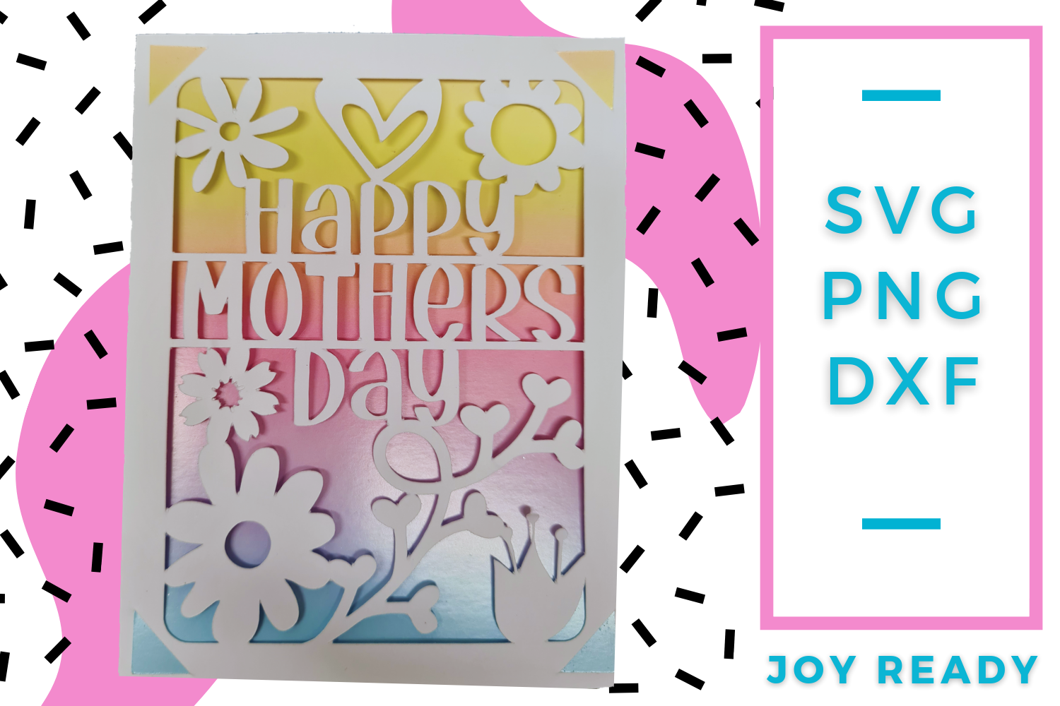 Mothers Day Card SVG File