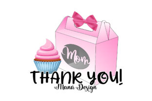 Print on Demand: Mothers Day Lunch Box Graphic 3D SVG By Maná Design 3