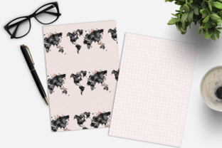 Print on Demand: Wanderlust Digital Paper Pack Graphic Print Templates By TheGGShop 4