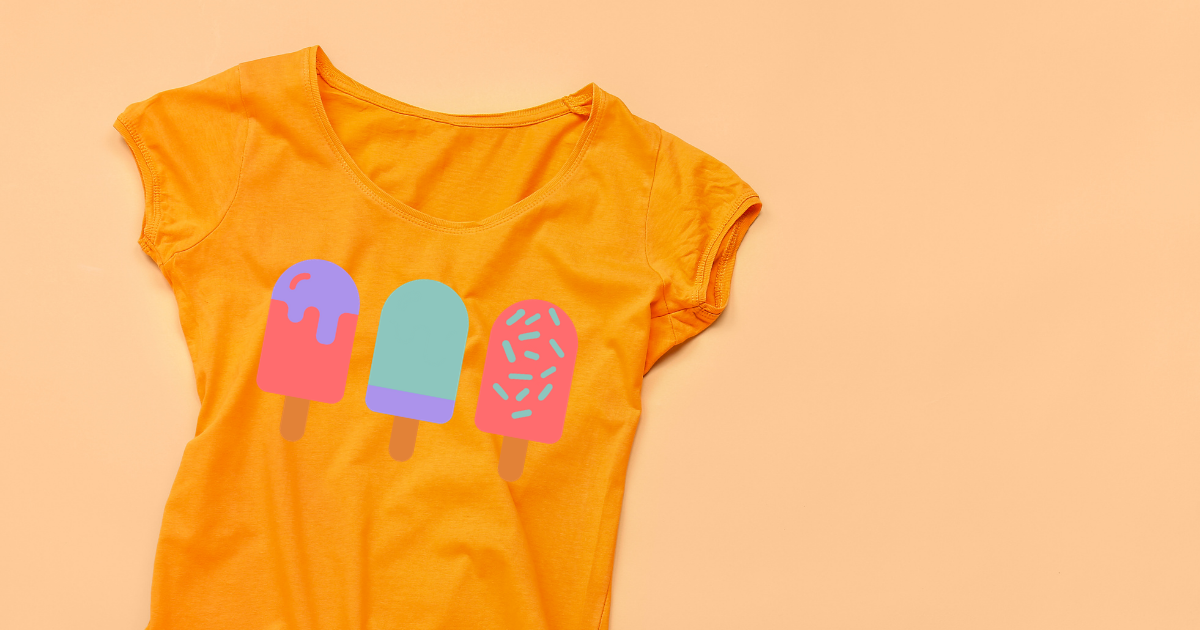 How To Create This Popsicle Summer Shirt Using Layered Vinyl
