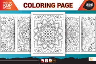 Print on Demand: Fathers Day Coloring Page Svg Bundle Graphic Coloring Pages & Books Adults By Nasim98