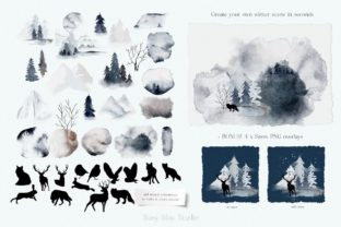 Print on Demand: Huge Winter Festive Collection Graphic Illustrations By Busy May Studio 5