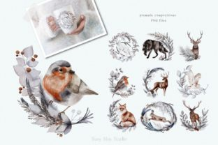 Print on Demand: Huge Winter Festive Collection Graphic Illustrations By Busy May Studio 6
