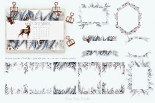 Print on Demand: Huge Winter Festive Collection Graphic Illustrations By Busy May Studio 10