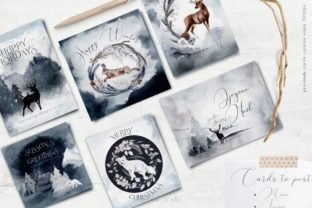 Print on Demand: Huge Winter Festive Collection Graphic Illustrations By Busy May Studio 9