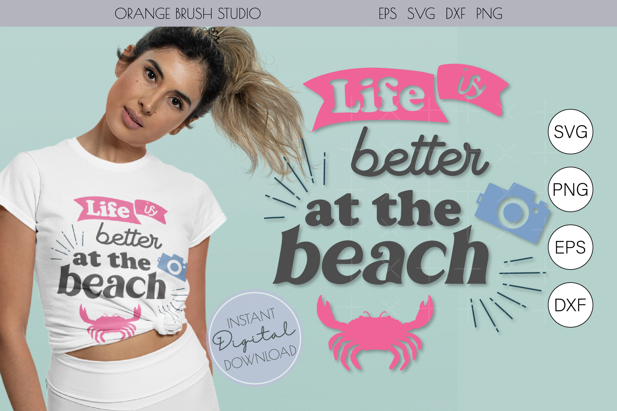 Life is Better at the Beach. SVG… SVG File