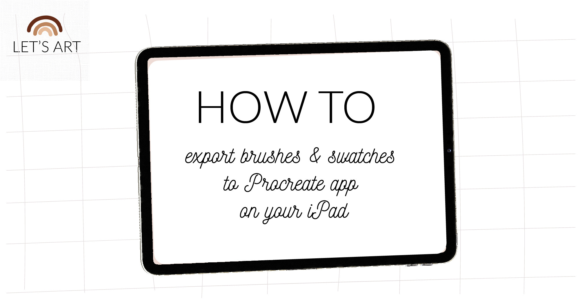 How to import and unzip brushes and swatches to Procreate