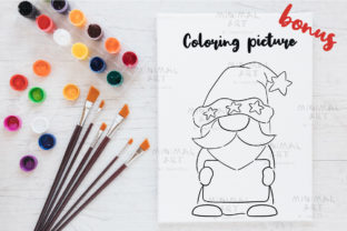 Print on Demand: Patriotic Gnomes Clipart Png 4th July Graphic Illustrations By Momixzaa 8