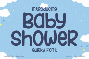 Print on Demand: Baby Shower Display Font By perspectype