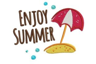 Enjoy Summer Summer Embroidery Design By NinoEmbroidery