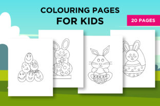 Print on Demand: Rabbit Coloring Pages for Kids Graphic Coloring Pages & Books Kids By khan.swadhin 1