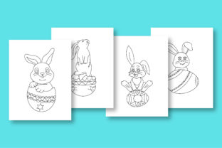 Print on Demand: Rabbit Coloring Pages for Kids Graphic Coloring Pages & Books Kids By khan.swadhin 3