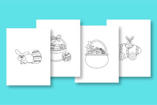 Print on Demand: Rabbit Coloring Pages for Kids Graphic Coloring Pages & Books Kids By khan.swadhin 4