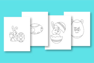 Print on Demand: Rabbit Coloring Pages for Kids Graphic Coloring Pages & Books Kids By khan.swadhin 5