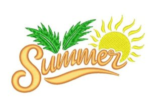 Summer and Sun Summer Embroidery Design By NinoEmbroidery