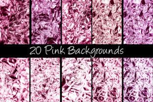 Print on Demand: 100 Shiny Foil Backgrounds Graphic Abstract By squeebcreative 10