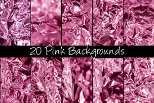 Print on Demand: 100 Shiny Foil Backgrounds Graphic Abstract By squeebcreative 11
