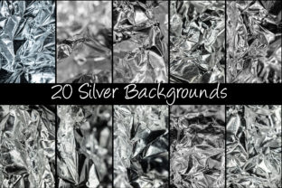 Print on Demand: 100 Shiny Foil Backgrounds Graphic Abstract By squeebcreative 3