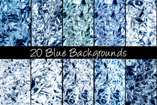 Print on Demand: 100 Shiny Foil Backgrounds Graphic Abstract By squeebcreative 4
