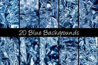 Print on Demand: 100 Shiny Foil Backgrounds Graphic Abstract By squeebcreative 5