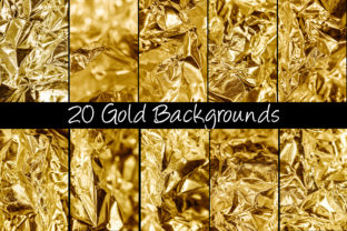 Print on Demand: 100 Shiny Foil Backgrounds Graphic Abstract By squeebcreative 7