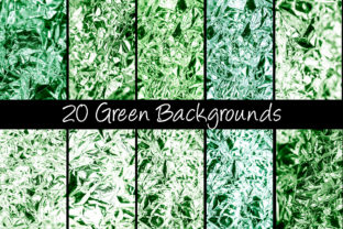 Print on Demand: 100 Shiny Foil Backgrounds Graphic Abstract By squeebcreative 8