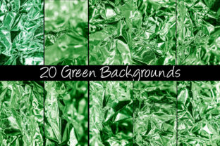 Print on Demand: 100 Shiny Foil Backgrounds Graphic Abstract By squeebcreative 9