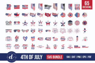 4th of July SVG Bundle | 65 Designs Graphic Crafts By CraftlabSVG
