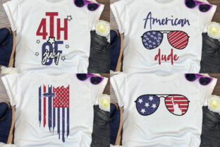 4th of July SVG Bundle | 65 Designs Graphic Crafts By CraftlabSVG 3