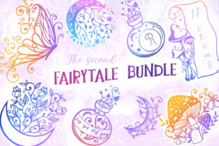 Print on Demand: Another Fairytale Bundle - 17 SVGs Graphic Crafts By tatiana.cociorva 1