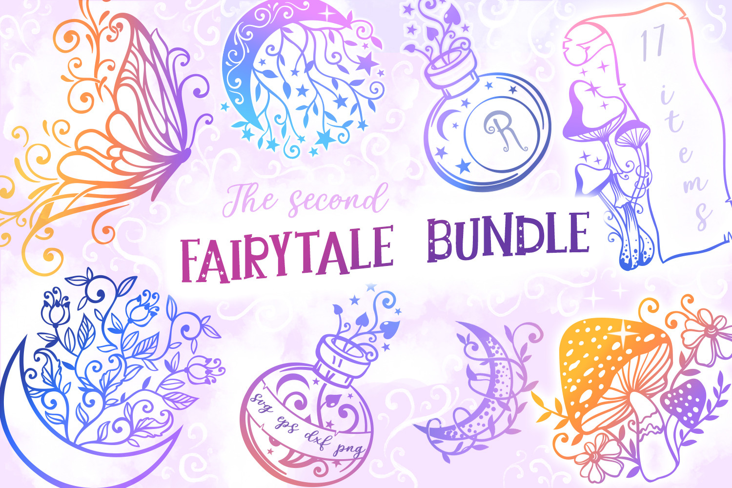Another Fairytale Bundle - 17 SVGs SVG File