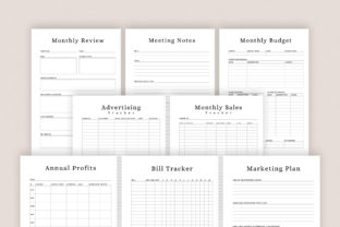 Print on Demand: Printable Success Planner Bundle Pack Graphic KDP Interiors By AmitDebnath 5